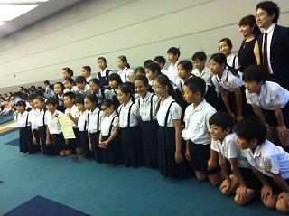 合唱団 NHK学校音楽コンクール出場