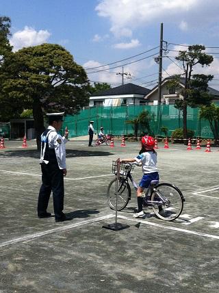 3年生自転車講習会